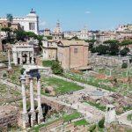 visiter la Rome antique et le forum romain