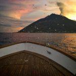 visite de Stromboli en bateau