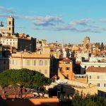 vues panoramiques de Rome