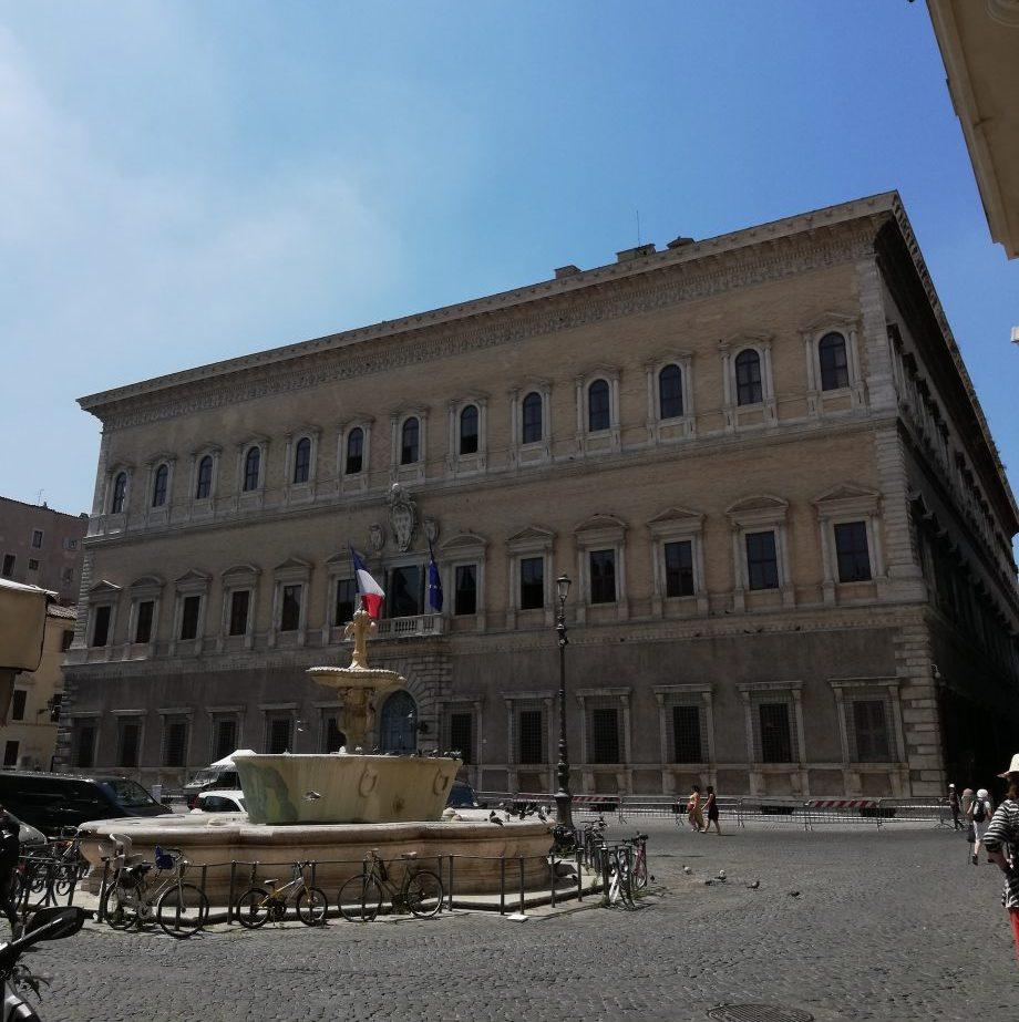 la Tosca de Puccini palais Farnèse