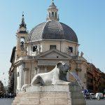 Rome place du Peuple