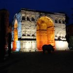 Rome arc de Gianus