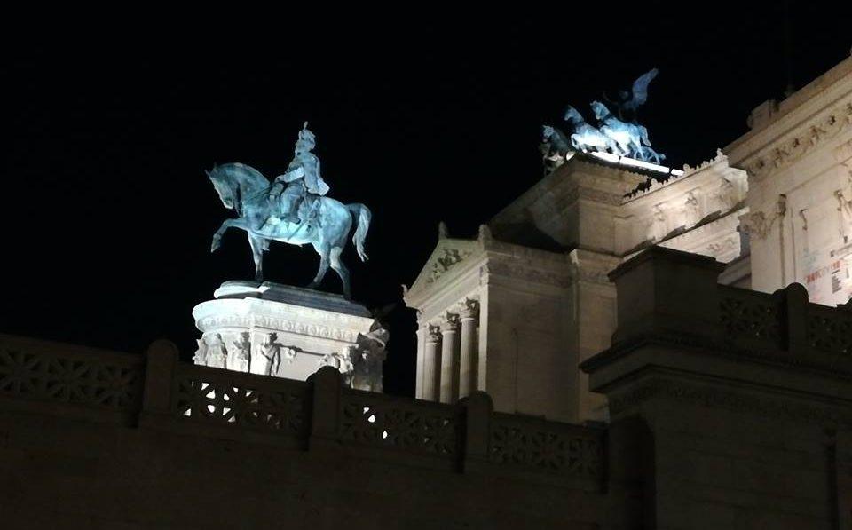 visiter Rome illuminée
