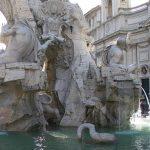 Rome fontaine des 4 fleuves Bernin