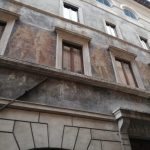Rome à la renaissance façade peinte