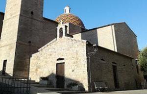 Olbia église de san Paolo