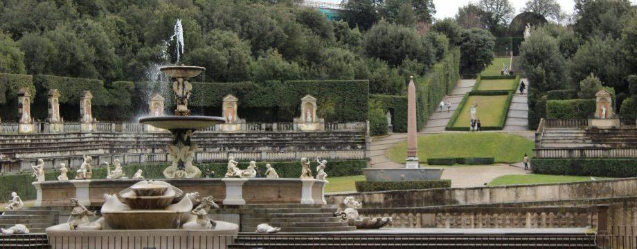 visite des jardins florentins