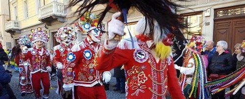 carnaval en vallée dAoste
