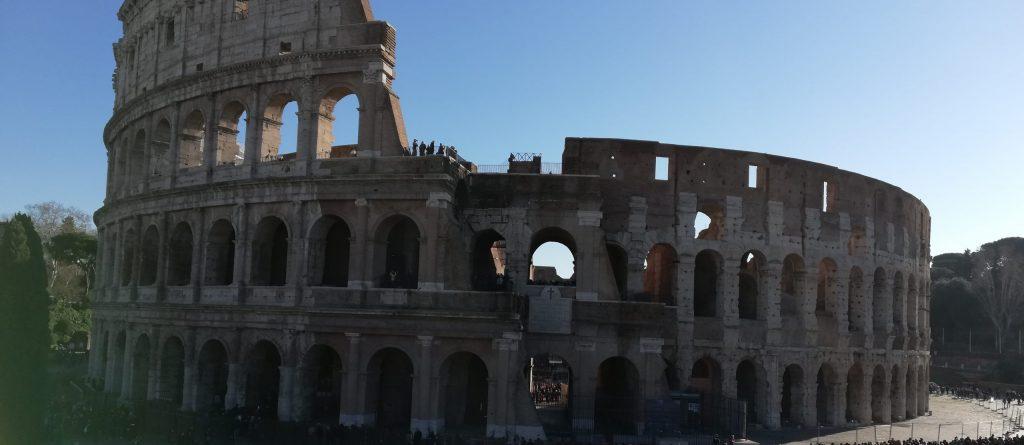 Le Gladiateur au Colisée