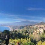 Taormina vue sur la mer