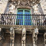 visite guidée de Catane baroque fenetre