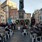 cérémonie Giordano Bruno 2020
