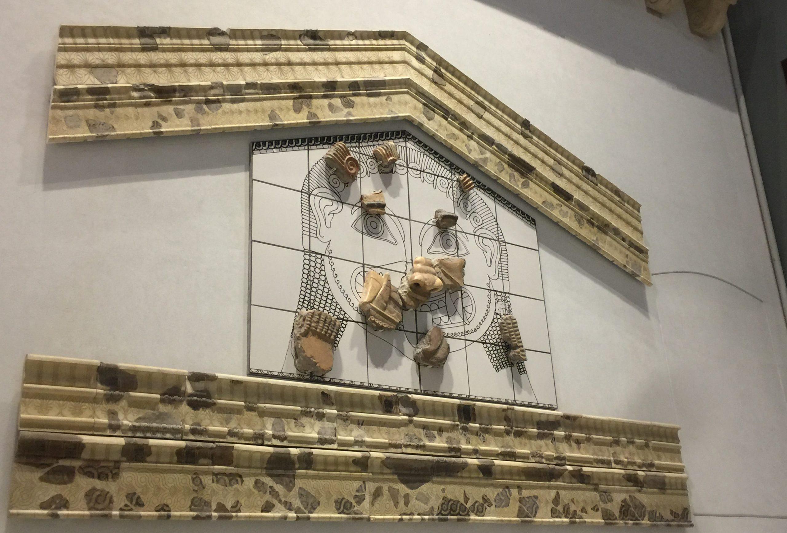 visite du musée archéplogique de Palerme