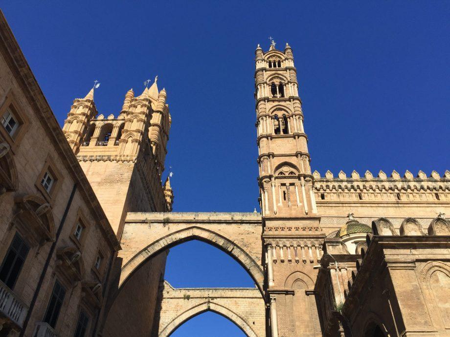 visite du palais des normands à Palerme