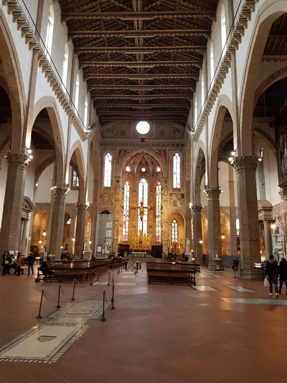 visite de santa Croce de Florence
