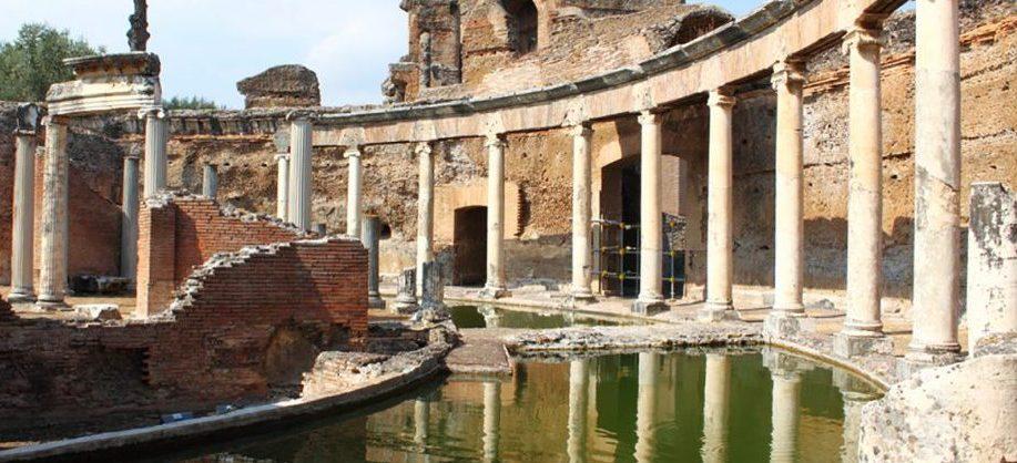 visiter villa Hadrien à Tivoli