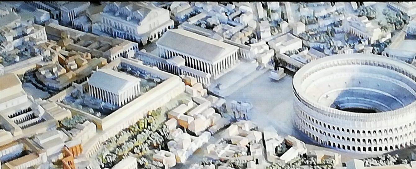 visiter la Rome antique avec une archéologue