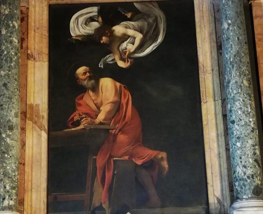 Caravage dans les églises