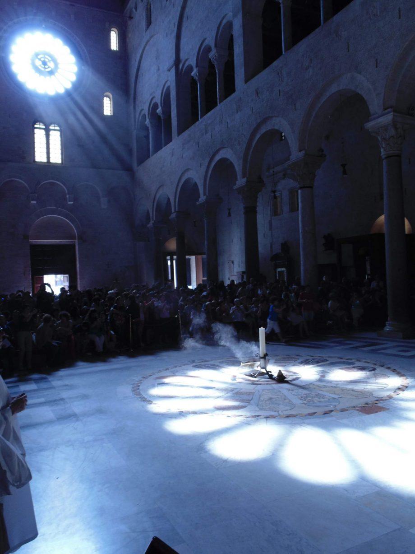 solstice d'été cathédrale de saint Sabin de Bari