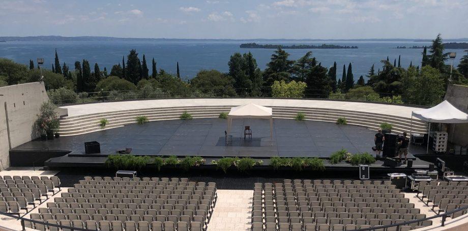 nouvel amphithéâtre du Vittoriale