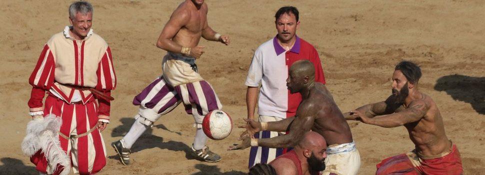 football florentin match