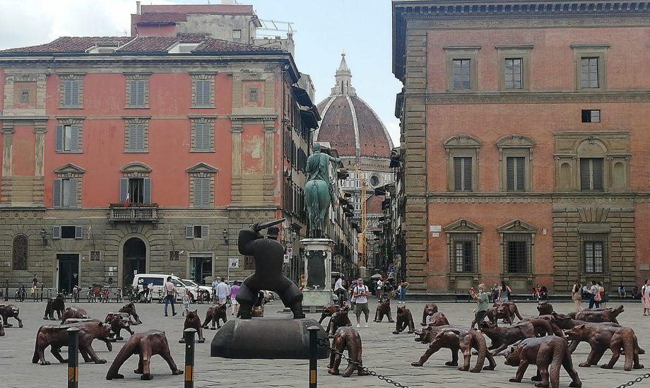 Les loups arrivent à Florence