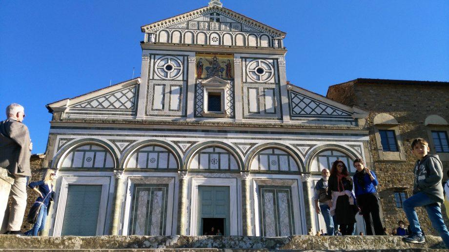 église de san Miniato à Florence