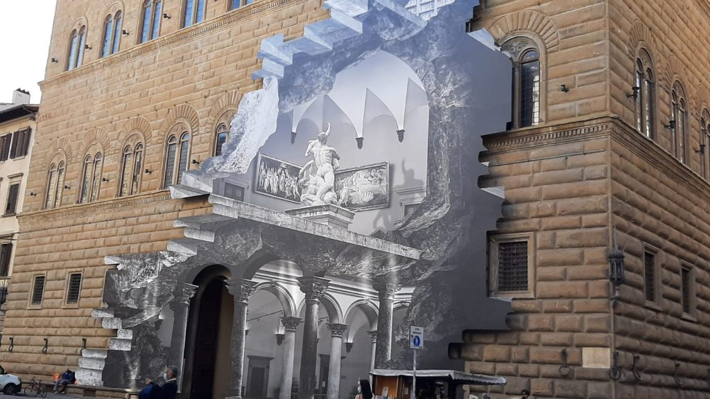 la Ferita palazzo Strozzi Florence