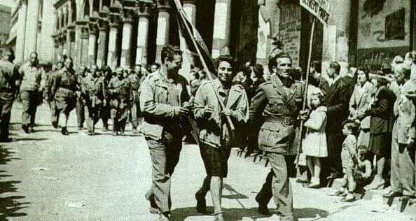 liberation à Pise