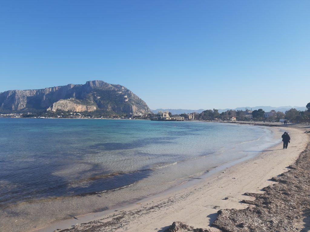 Mondello la plage de Palerme