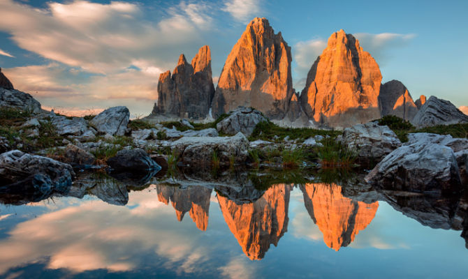parc national des Dolomites