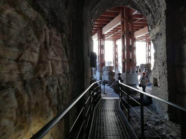 visiter les souterrains du Colisée