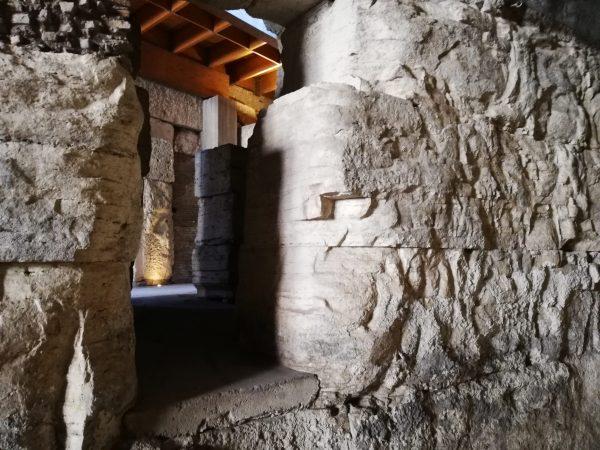 visite guidée des souterrains du Colisée